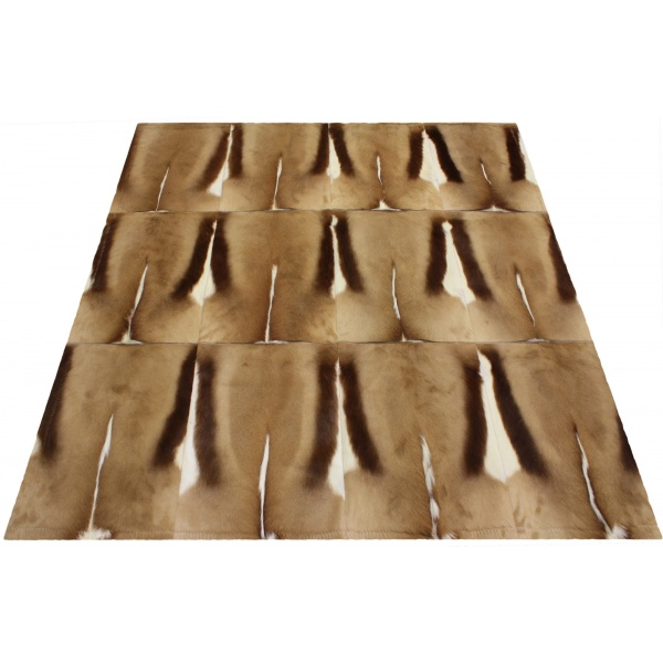 tapis springbok naturel