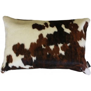 coussin rectangle vache normande