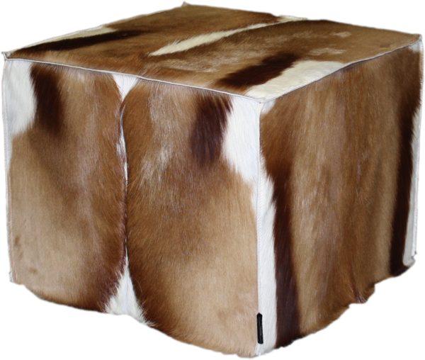 pouf springbok naturel