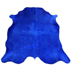 peau de vache bleue unie