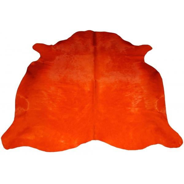 peau de vache orange unie