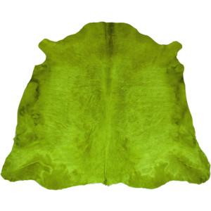 peau de vache verte unie