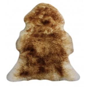 peau de mouton méchée marron