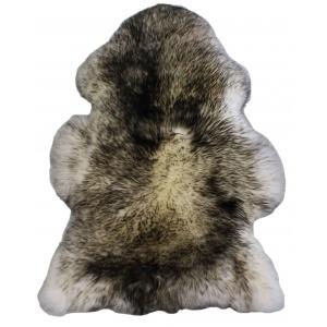 peau de mouton méché noir