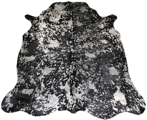 peau de vache noire acide argent