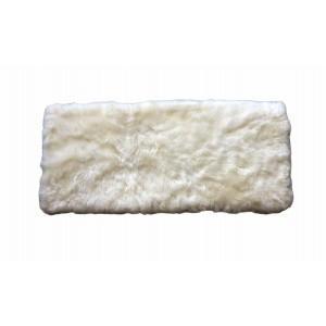 tapis en peau de mouton rectangle