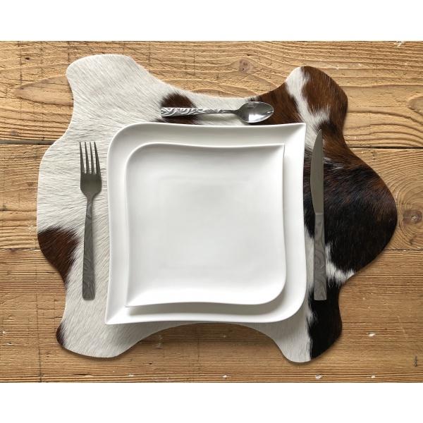 set de table en forme vache
