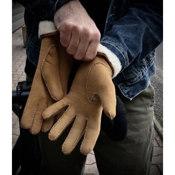 gants en peau de mouton