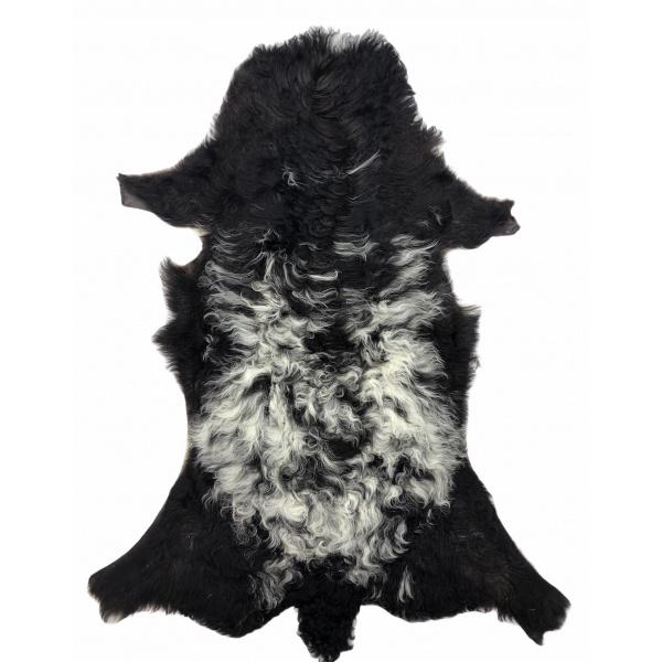 peau agneau du bearn noir