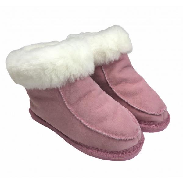 chaussons enfant en peau de mouton
