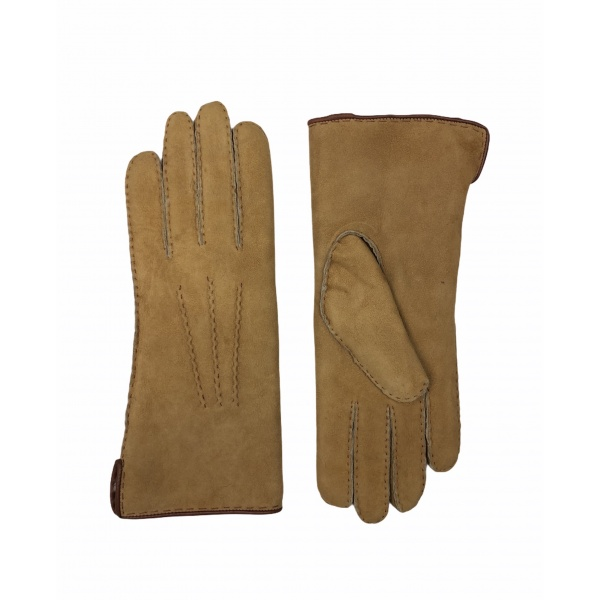 gants en peau de mouton naturels
