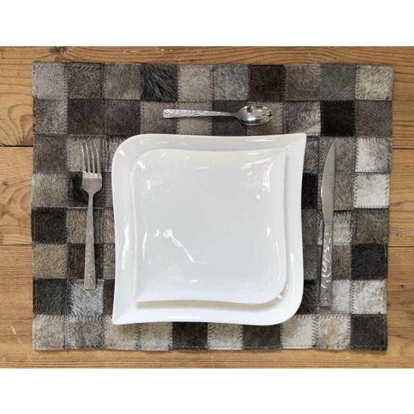 set de table peau de vache
