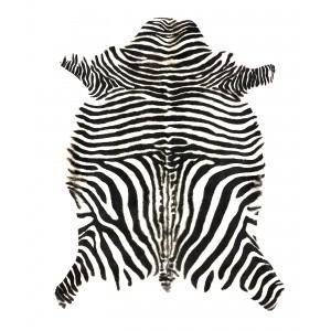 peau de chevre zebre blanche