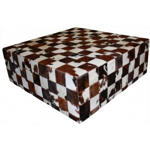 table peau de vache patchwork normande