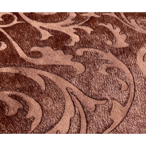 tapis peau de vache laser