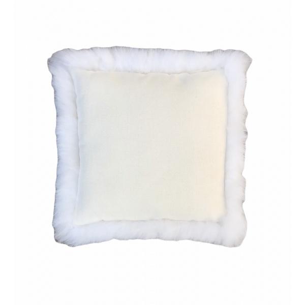 doublure coussin en peau de mouton