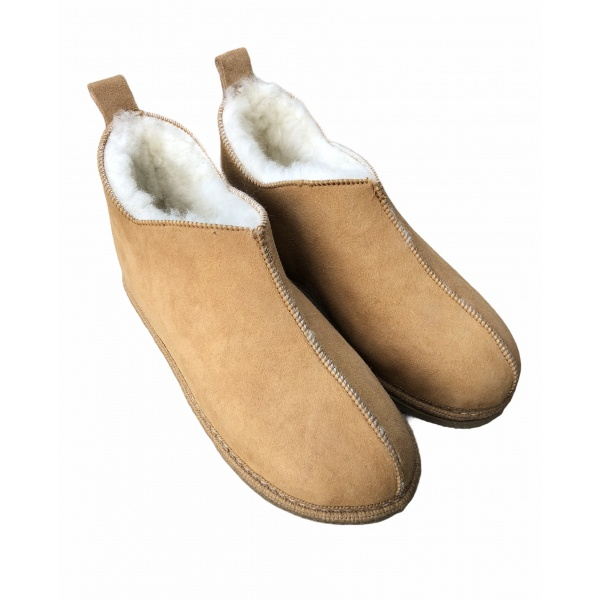 chaussons bottillon en mouton